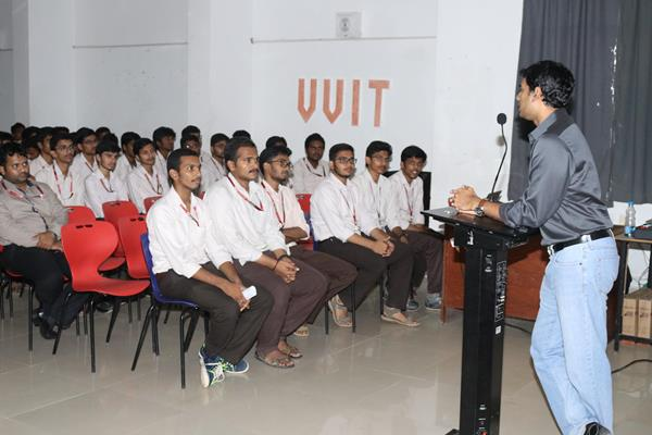 Dr.Y.Raghu Reddy  at guest lecture