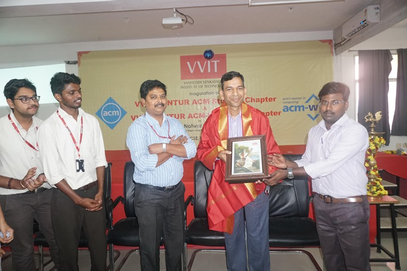 Felicitation to Dr.Natwar Modani by faculty