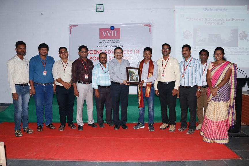 Felicitation to Dr.T.Narasa Reddy by management