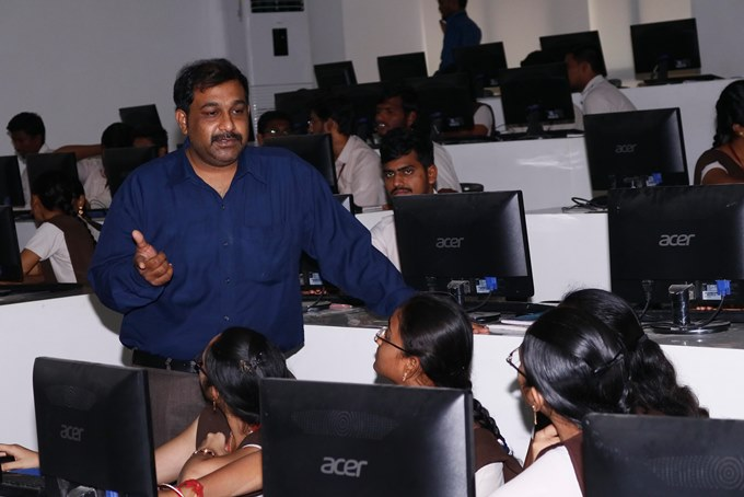 ayalasomayajula srikanth at workshop